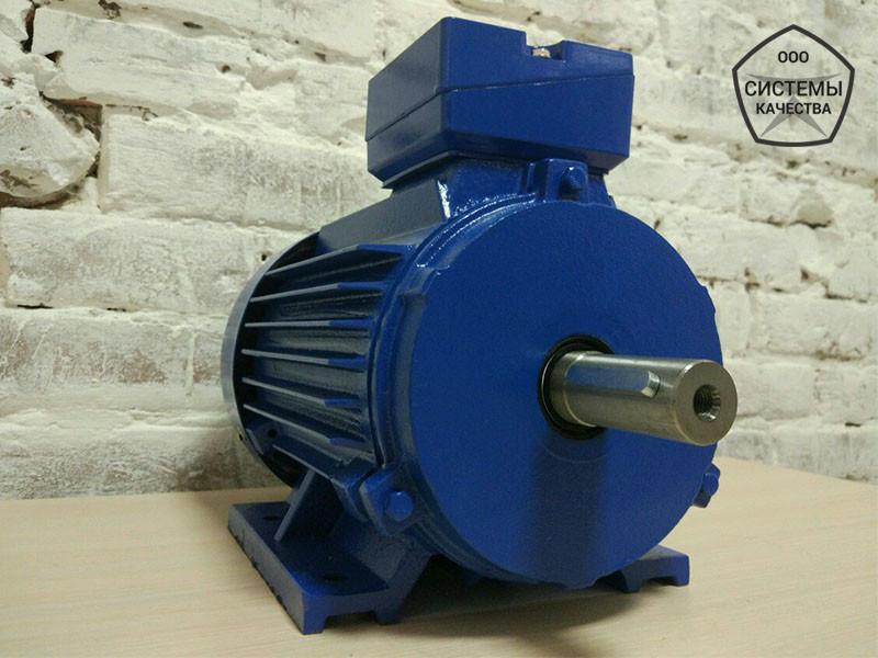 АИР71В6 0,55 кВт 1000 об/мин. Асинхронный электродвигатель