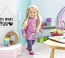 Кукла Baby Born Беби Борн старшая сестра Салли 63 см Puppe Sally blond Zapf Creation 877630, фото 3