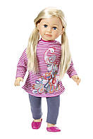 Кукла Baby Born Беби Борн старшая сестра Салли 63 см Puppe Sally blond Zapf Creation 877630, фото 1