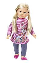 Кукла Baby Born Беби Борн старшая сестра Салли 63 см Puppe Sally blond Zapf Creation 877630