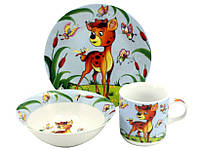 Детский набор посуды Оленёнок 070
