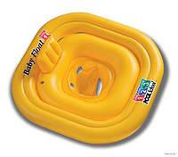 Детский надувной круг-плотик Intex 79х79 см  (56587)