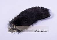 Меховой брелок из чернобурки
