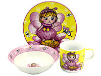 Детский набор посуды Фея-Бабочка 055