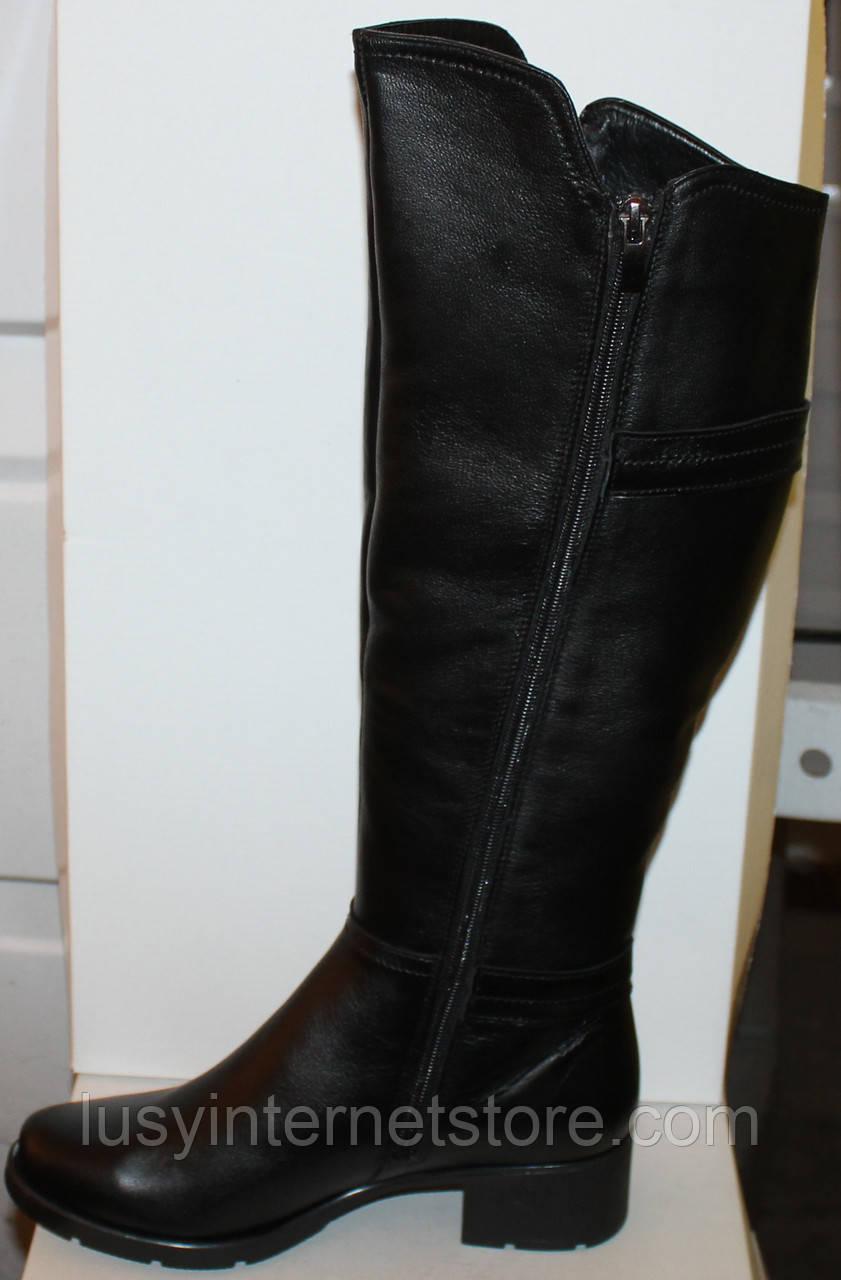 01e852293 ... Высокие женские кожаные сапоги демисезонные, сапоги от производителя  модель БМ741В, фото 4