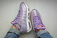 Женские кроссовки Nike Air Max 95 Premium Purple Smoke
