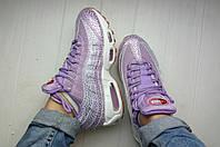 Женские кроссовки Nike Air Max 95 Premium Purple Smoke, фото 1