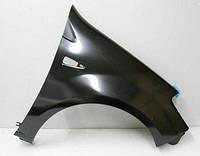 Крыло переднее левое с отв.,без отв. под рант Рено Сандеро (Renault Sandero) 2008-2013