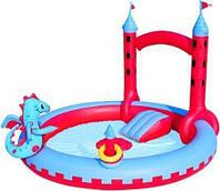 Водный надувной игровой центр Bestway Замок Дракона  193х221х150 см (53037)