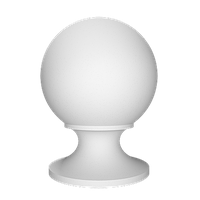 Крышка шар 4.77.201 Европласт