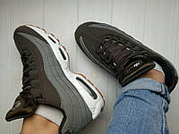 Женские кроссовки Nike Air Max 95 Essential Grey Brown