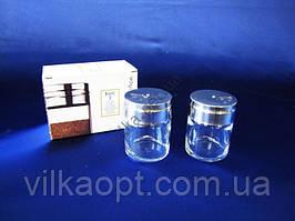 Набор для специй стекло  2 х 115 г.  43880 Бейсик