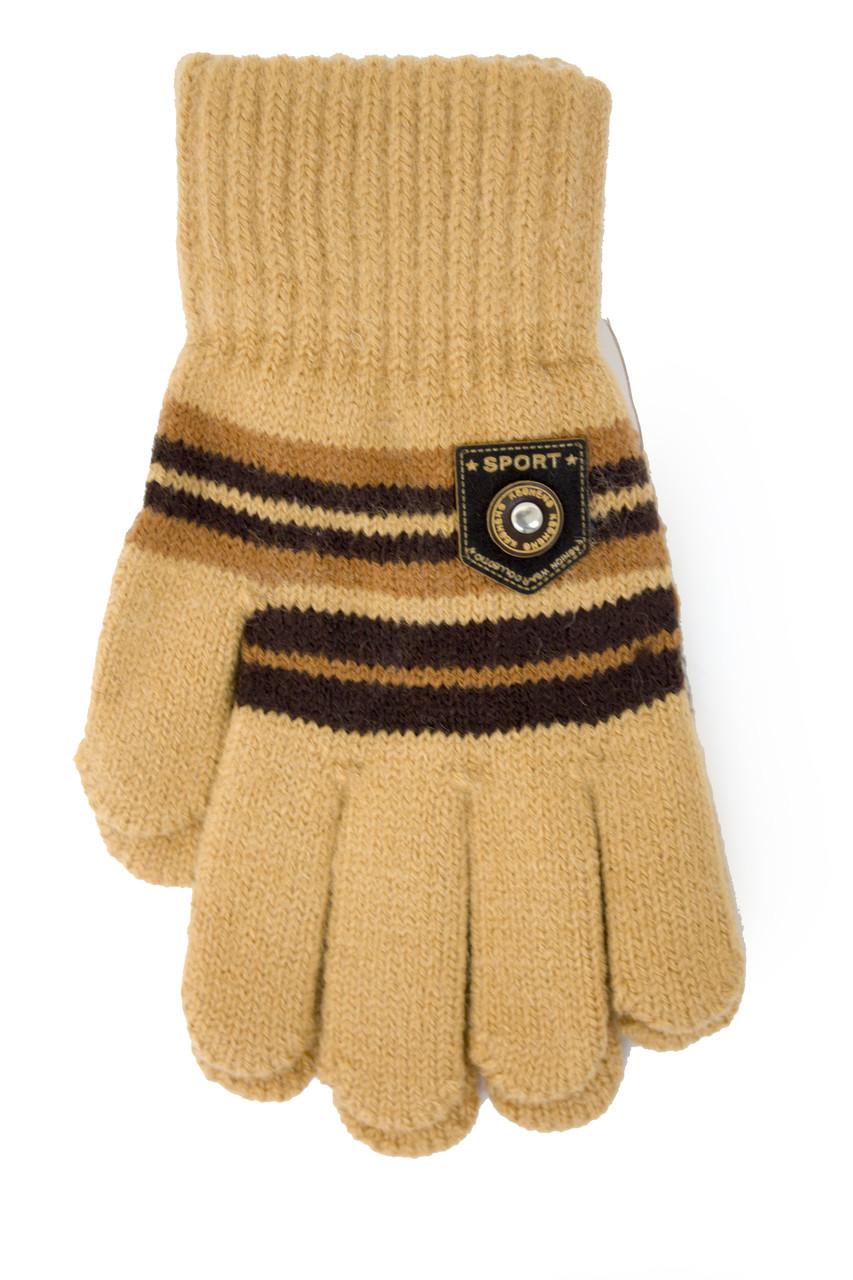 Трикотажные перчатки Корона Подросток вязаные M5670-2 мкк