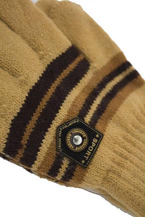 Трикотажные перчатки Корона Подросток вязаные M5670-2 мкк, фото 2