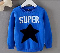 Стильный свитер для мальчика на 3,4,5,6 лет