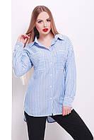 Женская рубашка с длинным рукавом Риканто