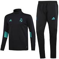Тренировочный костюм FC Real Madrid Adidas 2017/18 black