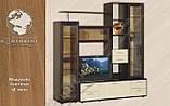 Надставка комбинированная Н-5 Хьюго/Hugo МДФ (Континент) 820х420х1700мм, фото 4