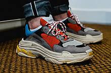 Мужские кроссовки Balenciaga 17FW Tripe-S Dad Shoe Grey/White, фото 2