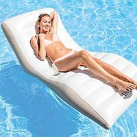 Пляжное надувное кресло-шезлонг Intex 193х102 см (56861)