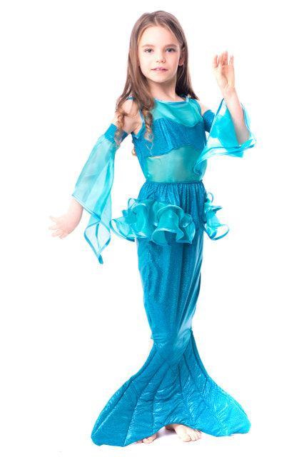 Детский карнавальный костюм для девочки Русалка