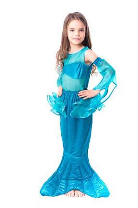Детский карнавальный костюм для девочки Русалка, фото 2