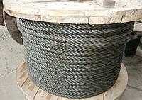 Канат (трос) стальной диаметр 32,5 мм ГОСТ  7669-80 от ГОСТ МЕТАЛЛ