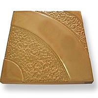 Формы для тротуарной плитки «Золотое сияние» глянцевые пластиковые АБС ABS