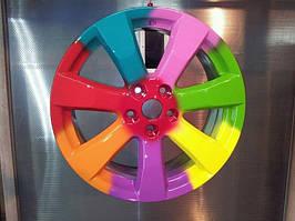 Пескоструйная обработка и покраска дисков