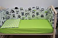 Детская защита на кроватку «Joy» (6 ед.) ТМ Lux Baby