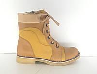 Демисезонные ботинки для девочек р.32 FS-collection