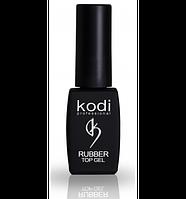 Каучуковое верхнее покрытие, топ Kodi Professional Rubber Top для гель-лака, 8 мл.