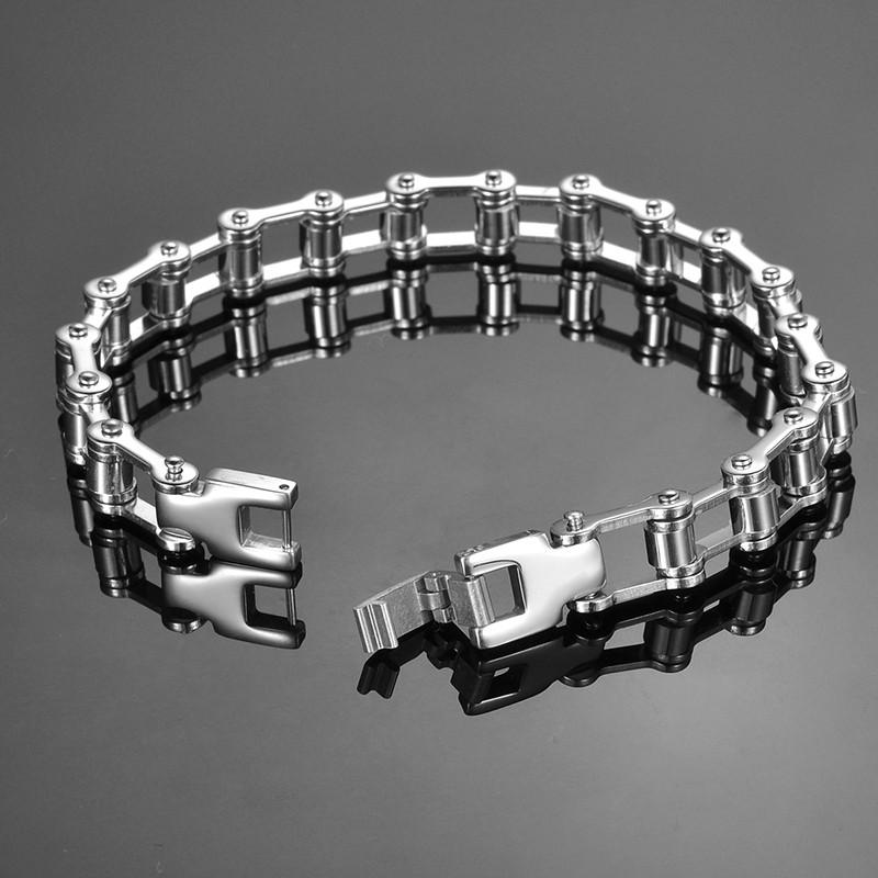 Мужской браслет – цепь велосипедная или мотоциклетная (мотоцикла)!