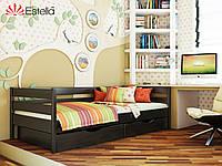"""Деревянная кровать """"Нота"""" 800х1900 (массив)"""