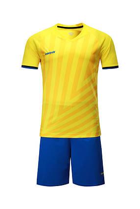 Футбольная форма Europaw 016 желто-синяя , фото 2