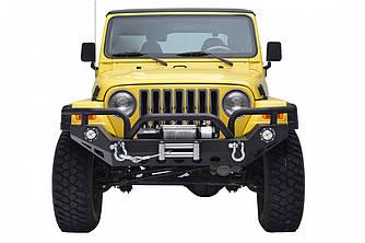 Силовой передний бампер Jeep Wrangler YJ (Hunter)