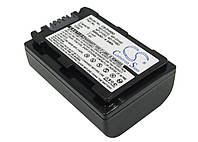 Аккумуляторная батарея CameronSino для фото/видео Sony NP-FH50, 7.4V, 650mAh, black