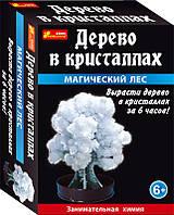 """Набор для исследований 0261  """"Дерево в кристаллах.Магический лес (белое)"""""""