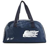 Спортивная  стильная женская сумка для тренировок art. 051 (101395) синяя Украина