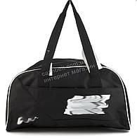 Спортивная  стильная женская сумка для тренировок art. 051 (101398) черная Украина