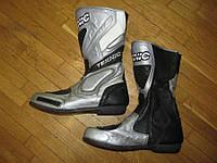 Мотоботы TEKNIC кожаные, 43-44р, 28,5см, в хорошем сост.