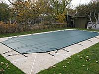 Батутное накрытие Loop-Loc для бассейна Балатон размером 7,80 х 3,90 м. Зимнее накрытие