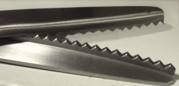 ножницы зигзаг для ткани