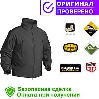 Куртка Helikon Gunfighter Soft Shell Jacket Black S, M, L, XL, XXL (KU-GUN-FM-01)