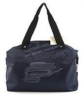 Спортивная  стильная женская сумка для тренировок art. 8 (101403) синяя Украина