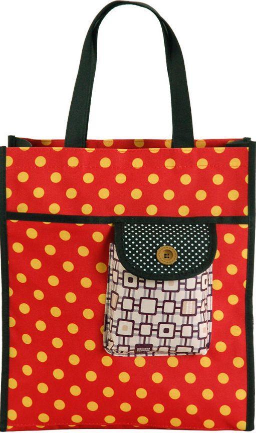 54624127ee5f Женская сумка для покупок Traum 7011-40 красная - SUPERSUMKA интернет  магазин в Киеве