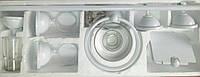 Белый набор аксессуаров для ванной комнаты