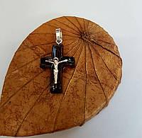 Крестик с серебряной накладкой