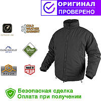 Легкая Зимняя Куртка Level 7 - CLIMASHIELD® APEX 100G Black  S, M, L, XL, XXL regular (KU-L70-NL-01)