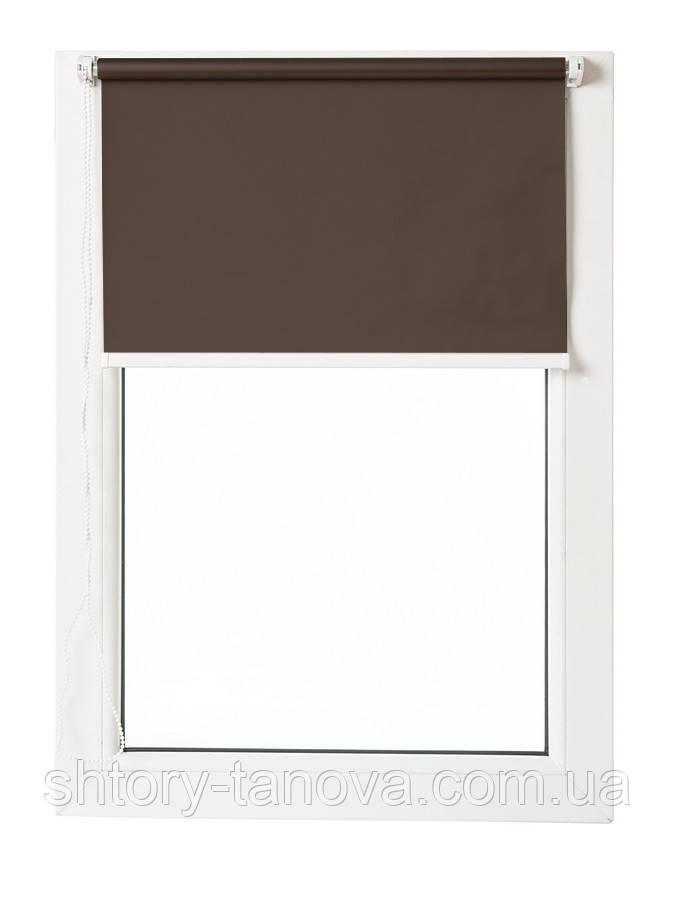 Термо ролеты Арджент (коричневый)